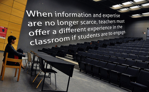 A Different Experience in the Classroom