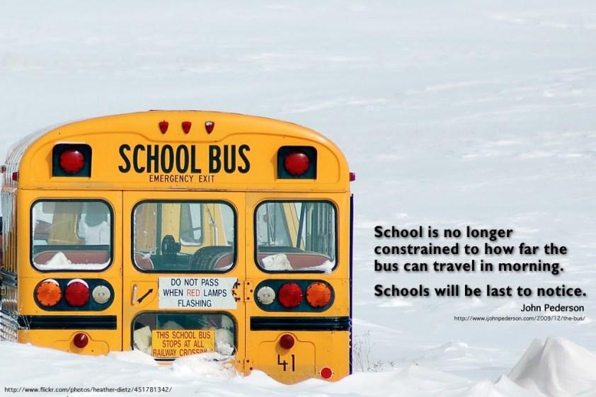 Schools Will Be Last to Notice