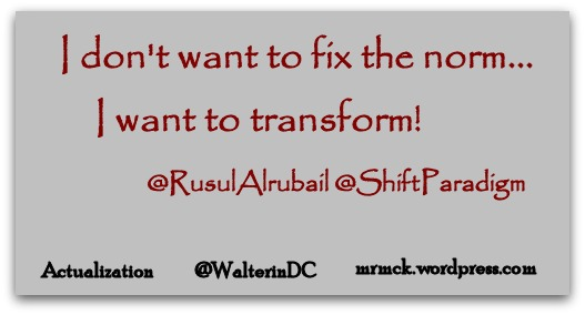 I Don't Want to Fix the Norm...I Want to Transform