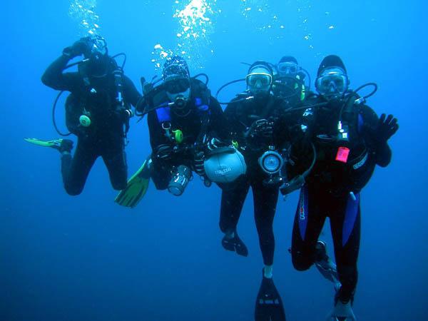 scuba team