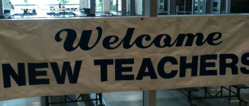 welcome new teachers