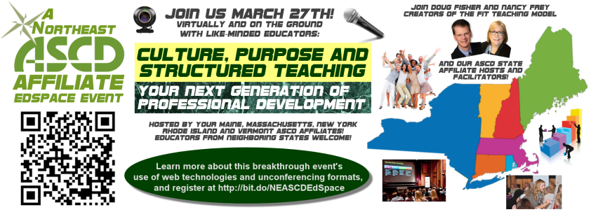 Northeast ASCD EdSpace Banner